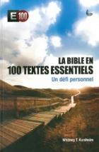La Bible en 100 textes essentiels (éd. LLB)